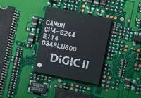 DIGIC II, to je ten čip, co za všechno může