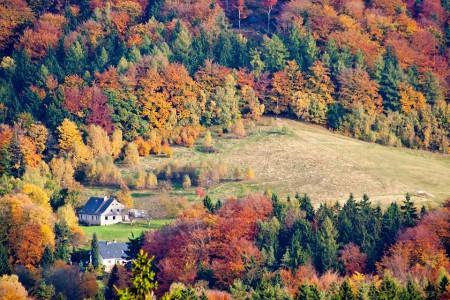 Pohled z Liberecké výšiny do krajiny | Canon EOS 350D