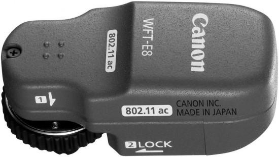 Dálková spoušť a bezdrátový přenašeč Canon WFT-E8
