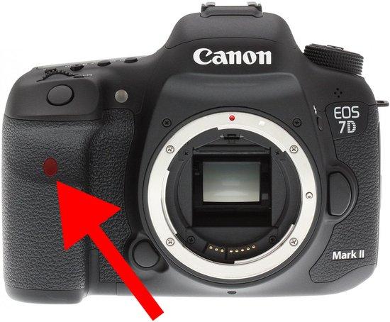 Senzor IR dálkové spouště na fotoaparátech Canon
