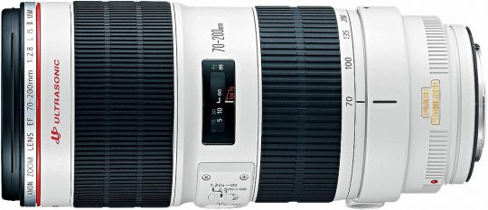 Objektiv Canon EF 70-200mm f/2.8L IS II USM | moje Tajemno