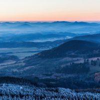 Fotografování v zimě z Ještědu | moje Tajemno