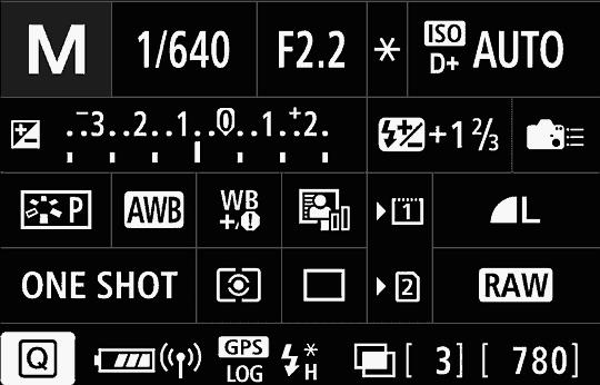 Informace o nastavení fotoaparátu