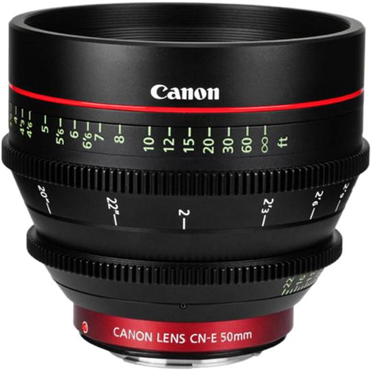 Canon EF CINEMA CN-E 50mm T/1.3 L F