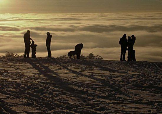 Zimní siluety | Jak fotografovat v zimě | moje Tajemno