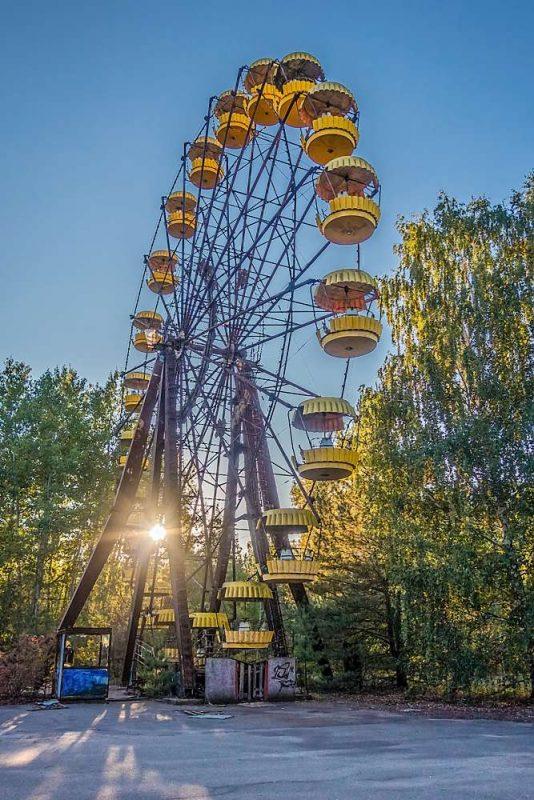 Velké ruské kolo v Pripjati | moje Tajemno