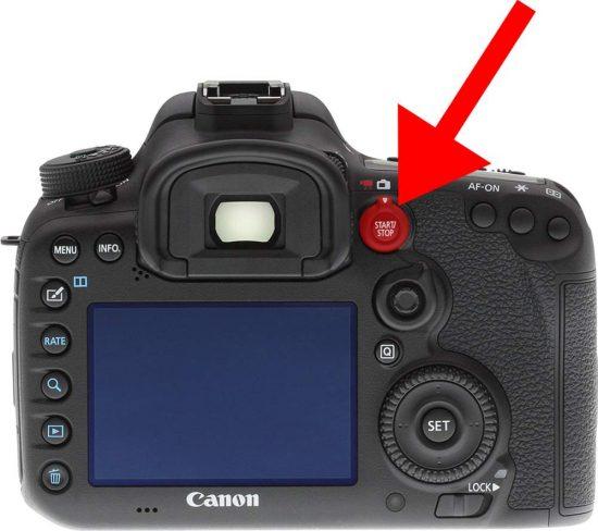 Natáčení videa fotoaparátem - zapínání | moje Tajemno