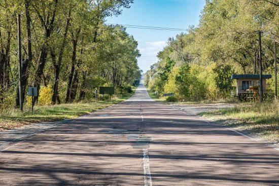 Černobyl - příjezdová cesta | moje Tajemno