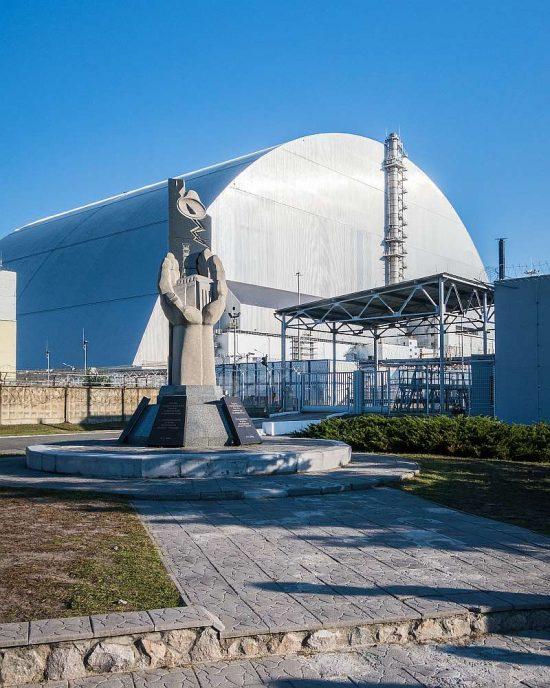 Elektrárna Černobyl - sarkofág | moje Tajemno