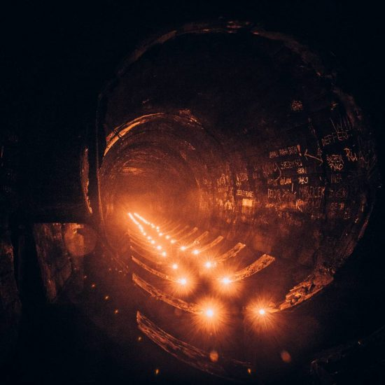 Levné filtry při focení v podzemí | moje Tajemno