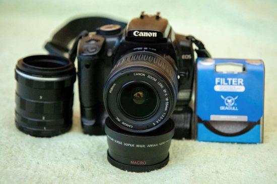 Příslušenství pro makrofotografii | moje Tajemno