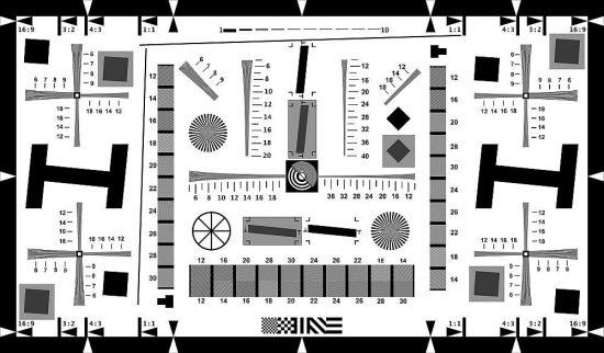 Testovací obrazce na rozlišení a detaily objektivů i senzorů fotoaparátu | moje Tajemno