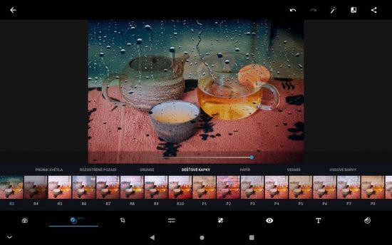 Aplikace pro fotografy Adobe Photoshop Express | moje Tajemno