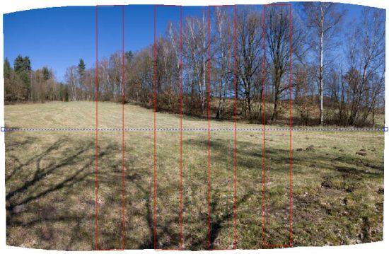 Skládání panorama v Zoner Photo Studio | moje Tajemno
