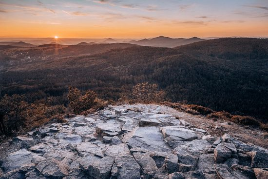 Západ slunce na Klíči | moje Tajemno