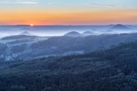 Před západem slunce | jak fotografovat krajiny | moje Tajemno