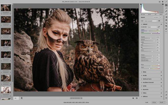 Vyvolání RAW v Photoshopu | moje Tajemno