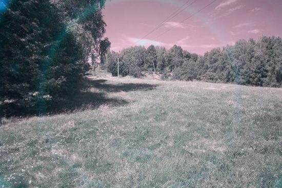 Vyvážení bílé barvy | IR filtr Cokin 007 | moje Tajemno