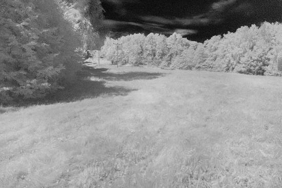 IR fotografie krajiny | moje Tajemno
