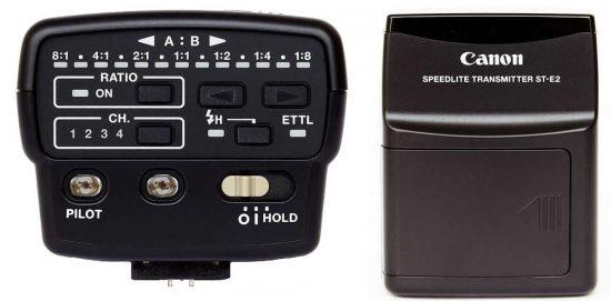 Canon Speedlite Transmitter ST-E2 pro dálkové odpalování blesků infračerveným světlem | moje Tajemno