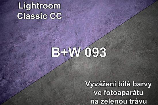 Vyvážení bílé barvy v IR fotografii | moje Tajemno
