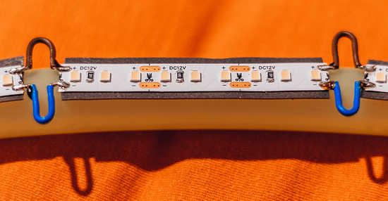 Obruč s LED páskem | moje Tajemno